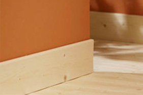 Plinthes bois